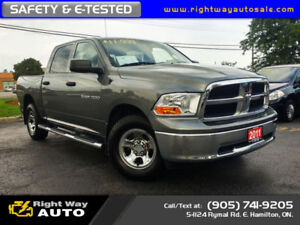 2011 Dodge Ram 1500 Crew ST | 4x4 | SAFETY & E-TESTED