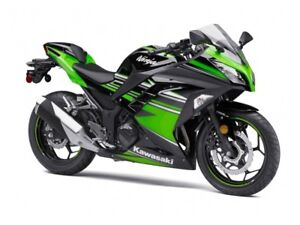 2017 Kawasaki Ninja 300 ABS Kawasaki Racing Team Edition