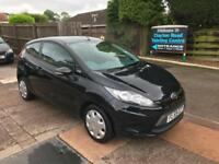 2009 FORD FIESTA STYLE+ 3 DOOR 1.25 PETROL, MANUAL, ONLY 76000 WARRANTED