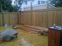 Stain, restore, repair, pressure wash, clean your deck this week