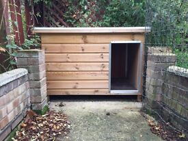 Quality Insulated Dog Kennel (outdoor use)