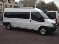 FORD TRANSIT 15 SEAT MINIBUS CERTIFICATE OF INITIALL FITNESS TACHO PSV
