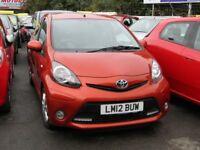 Toyota AYGO 1.0 VVT-I FIRE (red) 2012
