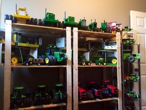 200 Piece toy tractor Collection