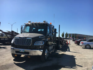 2012 Freightliner M2 and 2011 5 Car Sun Country Trailer