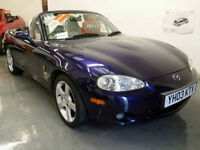 2003 MAZDA MX5 NEVADA - HEATED LEATHER SEATS - SERVICE HISTORY - LOW MILEAGE