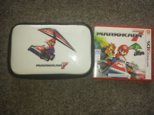 Mario Kart 3ds game and game case