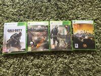 Xbox 360 4 game bundle cod