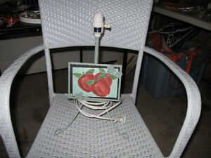 Lamp with Photo Frame