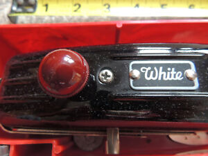 White Button Hole Maker, attatchments  and 2 cases London Ontario image 5