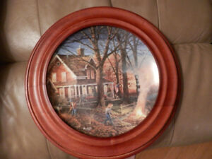 """Autumn Evening"" Collector Plate"
