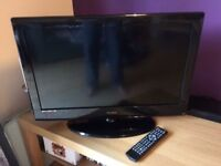 Technika 26 inch lcd tv freeview hdmi remote control