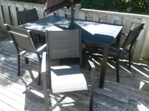 Patio deck set