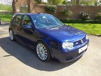 *SOLD* 2003 Volkswagen Golf 3.2 R32 5dr Manual Hatchback in Blue
