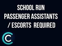 SCHOOL RUN PASSENGER ASSISTANT / ESCORT NEEDED