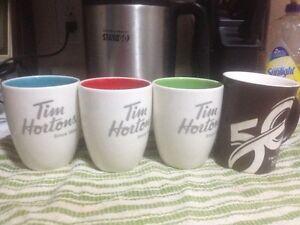 10 tim hortons coffee mugs