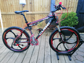 Cube XMS full Suspension mountain bike