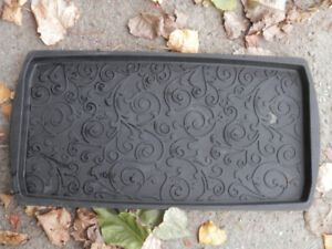 Black Boot Tray