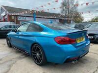 2018 68 BMW 4 SERIES 3.0 430D M SPORT 2D 255 BHP * 1 OWNER * PRO NAV * 19