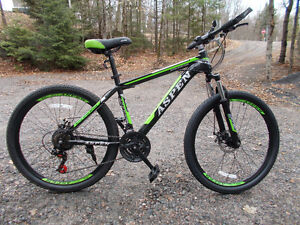 26'' wheels / 21 speed / adult aspen mountain bike /  brand new