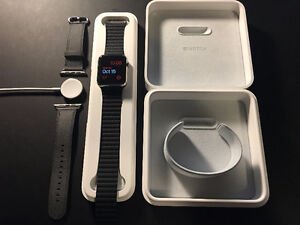 42mm Apple Watch Stainless Steel Case with AppleCare+ Kitchener / Waterloo Kitchener Area image 2