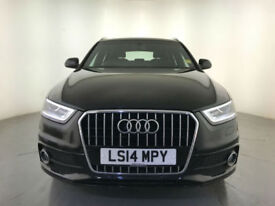 2014 AUDI Q3 S LINE TFSI ESTATE AUTOMATIC LEATHER HEATED SEATS SERVICE HISTORY