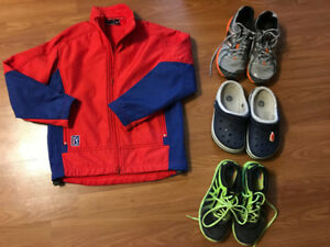 PGA coat and shoes - kids