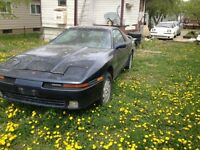 1989 toyota supra parts car