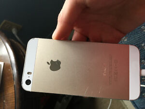 Iphone 5s Gold- works great