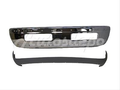 FOR 94-02 DODGE RAM 1500 2500 3500 FRONT BUMPER CHR LO 2PC