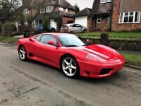 2000 Ferrari 360 3.6 Modena F1 2dr LHD LEFT HAND DRIVE UK REG