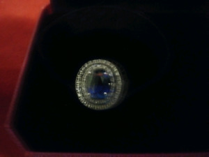 Sapphire ring! Great Christmas gift
