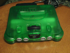 Nintendo N64 consoles, video games and accessories