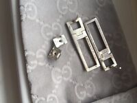 GUCCI solid silver earrings