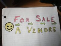 BATHURST  Area   Yard   Sales