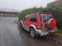 Mitsubishi Shogun pajero swb engine fault sold for spares over heating