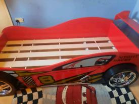 Kids Racing car bed single