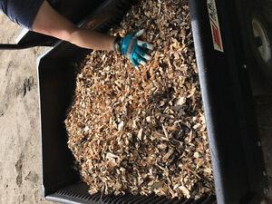 3ft x 3ft x 3 ft bag of wood chips