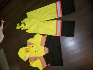 Forcefield Rain Coat and Overall Combo