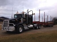 Kenworth t800 logging truck / potential year round contract