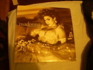 vinyl madonna/like a virgin 33 tour Lp