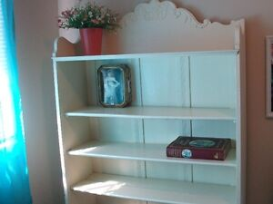 Old Fashioned Bookcase / Cabinet  ( has original doors as well)