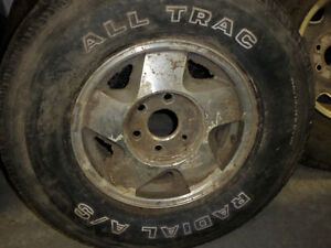 Alltrack Radial Tires and Rims
