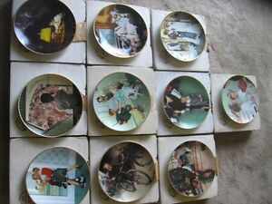 Norman Rockwell Full Series Plates