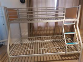 Grey Metal Bunk Beds