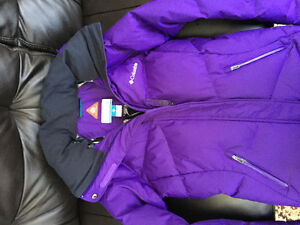 Columbia WInter Jacket Girls size 12-14