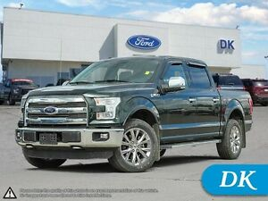 2015 Ford F-150 Lariat 502A SWB w/Leather, Moonroof, Nav!