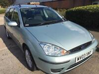 FORD FOCUS 1.6i LX ESTATE..12 MONTH MOT..SUPERB CONDITION..DRIVES GREAT..HISTORY