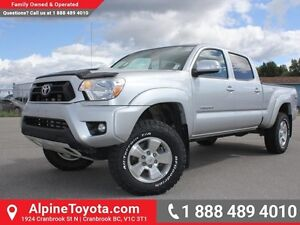 2013 Toyota Tacoma 4WD DBL CAB V6 AU  Lifted - New BFG A/T Tires