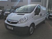 2013 Vauxhall Vivaro 2.0 CDTi 2900 Panel Van 4dr (LWB, EU5) Diesel white Manual